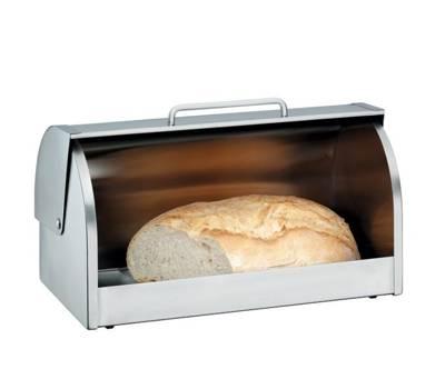 Chlebak stalowy z szybą WMF